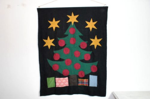 Stoffreste-Upcycling-Adventskalender
