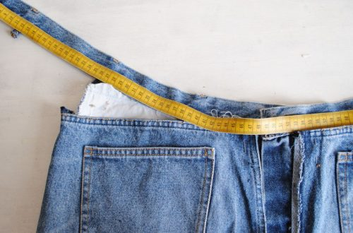 Jeansbund-enger-nähen